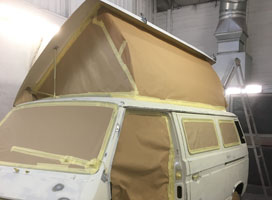 Campervan Full Respray