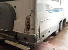 Motorhome Damage Repair