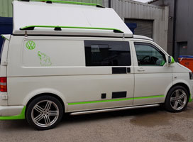 VW Campervan Respray